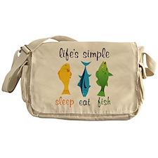 Lifes Simple Messenger Bag