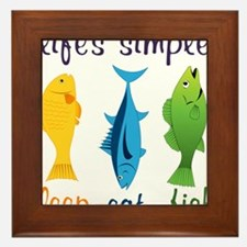 Lifes Simple Framed Tile