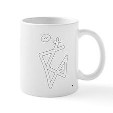 magical symbol of the black raven Mug