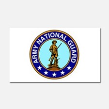 Army National Guard Logo Car Magnet 20 x 12