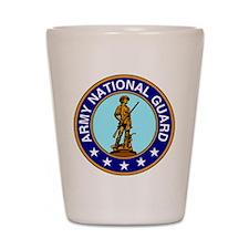 Army National Guard Logo Shot Glass