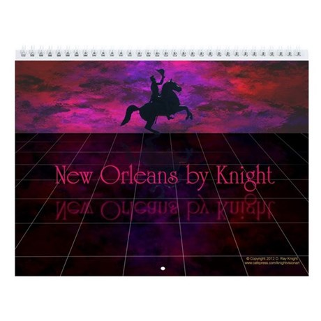 New Orleans by Knight VII Wall Calendar