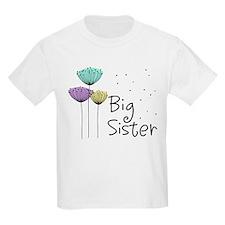 Big Sister Dandelions T-Shirt