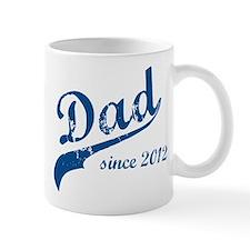 Dad Since 2012 Blue Mug