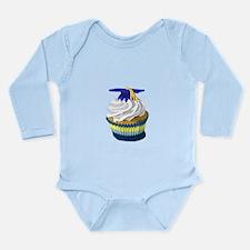 Graduation cupcake Long Sleeve Infant Bodysuit