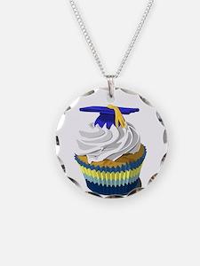 Graduation cupcake Necklace