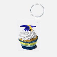 Graduation cupcake Keychains