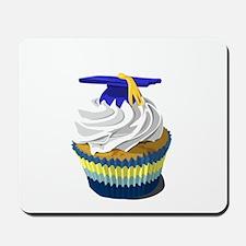Graduation cupcake Mousepad