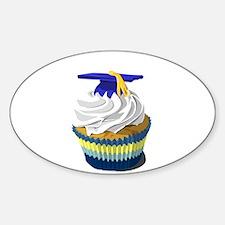 Graduation cupcake Decal
