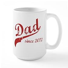 Dad Since 2012 Pink Mug
