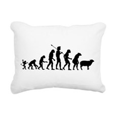 Modern Evolution Rectangular Canvas Pillow