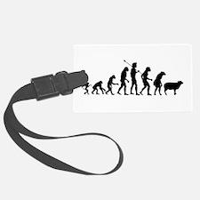 Modern Evolution Luggage Tag