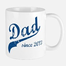 Dad Since 2013 Blue Mug