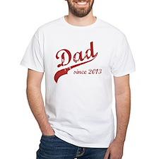 Dad Since 2013 Pink Shirt