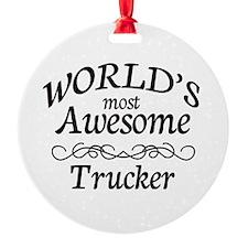 Trucker Ornament
