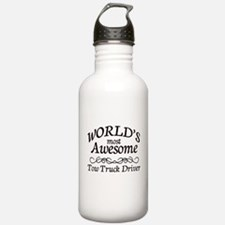 Tow Truck Driver Water Bottle