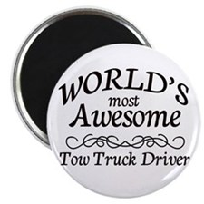 Tow Truck Driver Magnet