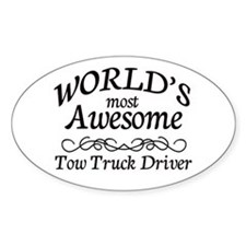 Tow Truck Driver Decal