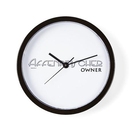 Affenpinscher Owner Wall Clock