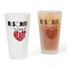 A Work Of Heart Drinking Glass