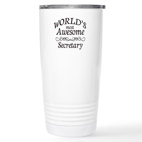Secretary Stainless Steel Travel Mug