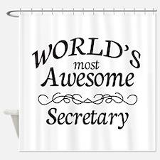 Secretary Shower Curtain