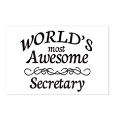 Secretary Postcards (Package of 8)
