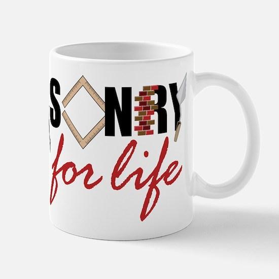 Masonry For Life Mug