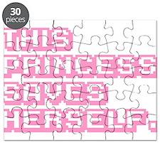 This Princess Saves Herself Puzzle