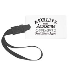 Real Estate Agent Luggage Tag