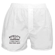 Real Estate Agent Boxer Shorts