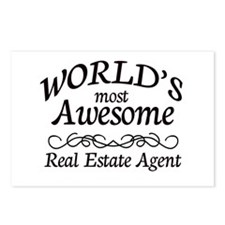 Real Estate Agent Postcards (Package of 8)