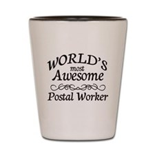 Postal Worker Shot Glass