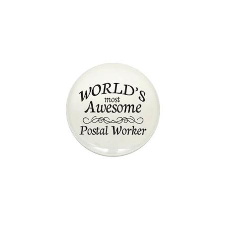Postal Worker Mini Button