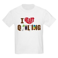 I Heart Quilting T-Shirt