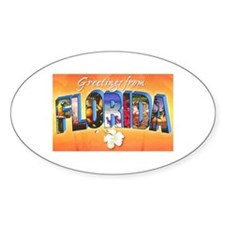 Florida State Greetings Decal