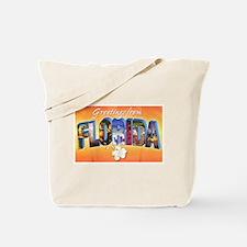 Florida State Greetings Tote Bag