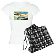 Nova Scotia Canada Greetings Pajamas