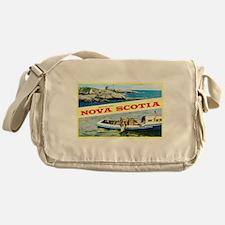 Nova Scotia Canada Greetings Messenger Bag