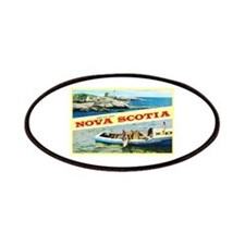 Nova Scotia Canada Greetings Patches