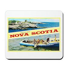 Nova Scotia Canada Greetings Mousepad