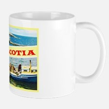 Nova Scotia Canada Greetings Mug