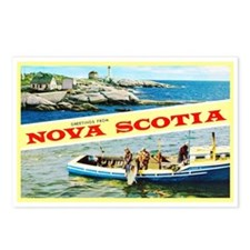 Nova Scotia Canada Greetings Postcards (Package of