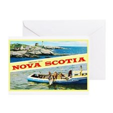 Nova Scotia Canada Greetings Greeting Cards (Pk of