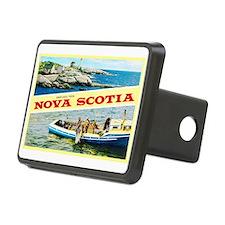 Nova Scotia Canada Greetings Hitch Cover