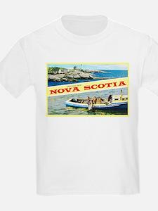 Nova Scotia Canada Greetings T-Shirt