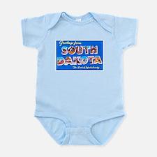 South Dakota State Greetings Infant Bodysuit