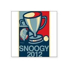 "Snoogy 2012 Square Sticker 3"" x 3"""