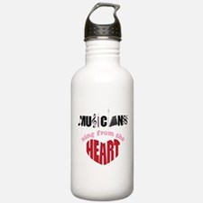 Sing From The Heart Water Bottle