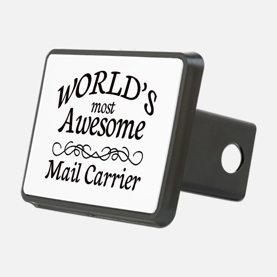 Mail Carrier Hitch Cover
